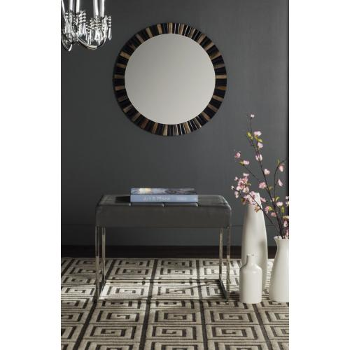 Roitfeld Ottoman - Grey