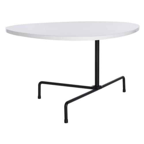 Safavieh - Berlin Tripod Coffee Table - White Lacquer / Black