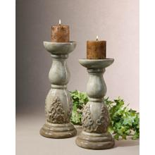 View Product - Ronin, Candleholders, S/2