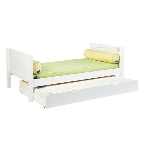 Trundle Bed Frame Only (excl. Slat Roll) : White