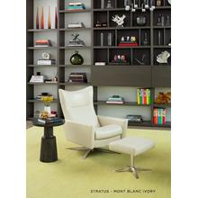 See Details - Stratus Modern Swivel Recliner - American Leather