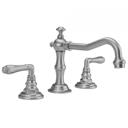 Polished Gold - Roaring 20's Faucet with Smooth Lever Handles & Fully Polished & Plated Pop-Up Drain