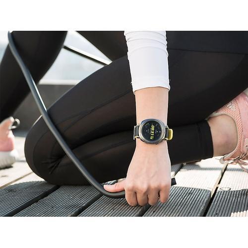 Samsung - Hybrid Sport Band for Galaxy Watch 42mm & Gear Sport, Yellow