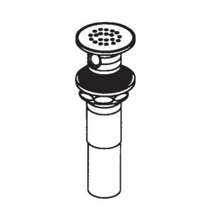 "Commercial 1 1/4"" grid strainer waste Product Image"