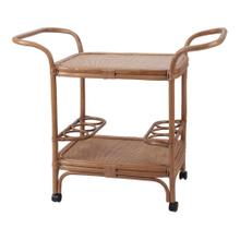 See Details - Trento Rattan Cart, Canary Brown