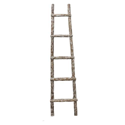 6' White Ladder