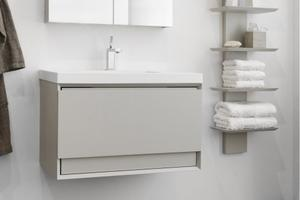 "Wall-mount vanity Wall-mount Metro - 18"" Height Product Image"