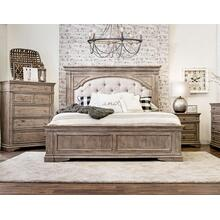 Highland Park-Tan 4-Piece King Set (King Bed/DR/MR/NS)