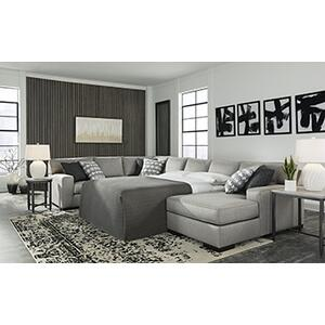Gallery - Marsing Nuvella 4 Piece Sleeper Sectional