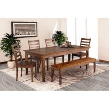 See Details - Sonora Harvest Dining Table, Bench & Chairs, ART-801-HRU