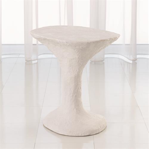 Primitive Accent Table-Soft White