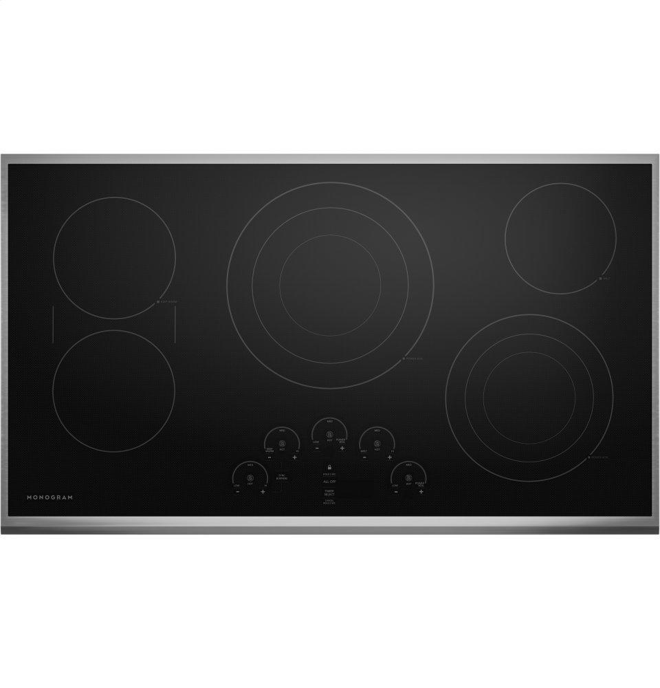 "MonogramMonogram 36"" Touch Control Electric Cooktop"
