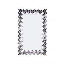 "Modern Mirror- Rectangular Zig Zag 47"" X 30"""