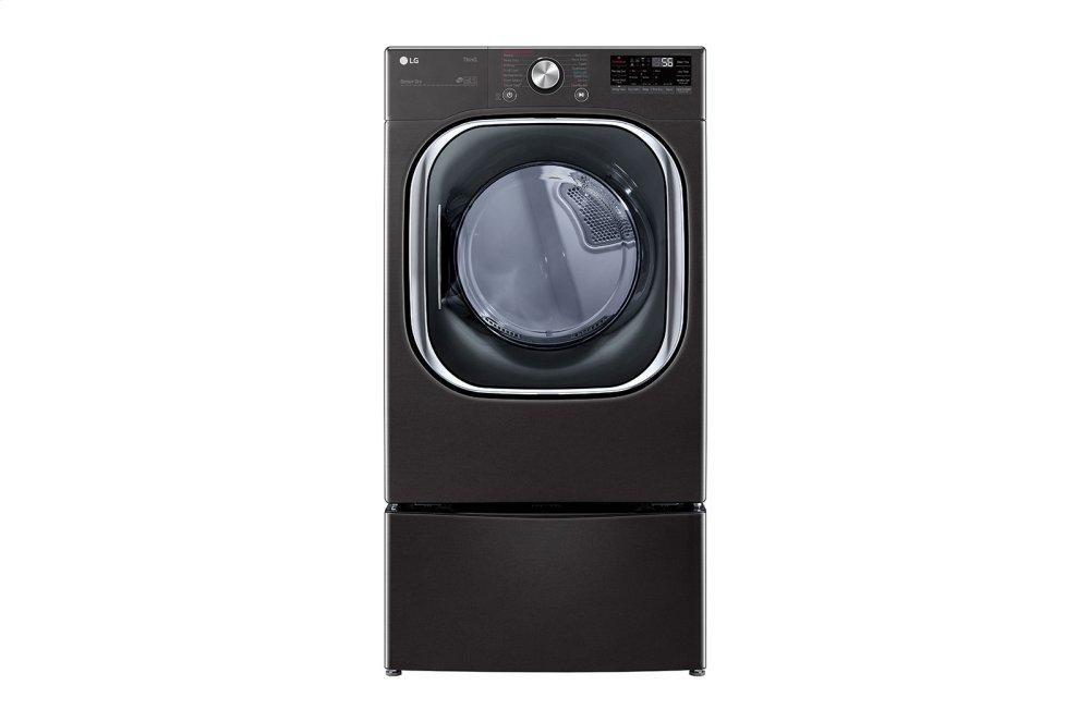 LG Appliances7.4 Cu. Ft. Ultra Large Capacity Smart Wi-Fi Enabled Front Load Electric Dryer With Turbosteam™ And Built-In Intelligence