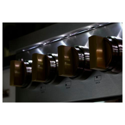 "Monogram 48"" Professional Gas Rangetop with 6 Burners and Griddle (Natural Gas) - Coming Spring 2021"