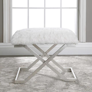 Farran Silver Small Bench