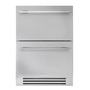 True Residential24 Inch Solid Stainless Door Undercounter Freezer Drawer