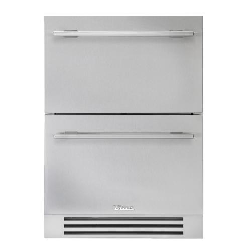 24 Inch Solid Stainless Door Undercounter Freezer Drawer