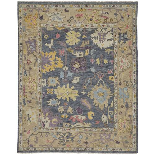 "KARINA 6791F IN BLUE/BEIGE 2'-6"" x 8'"