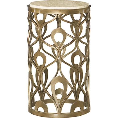 Round End Metal Table