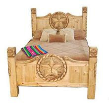 King Texas Star Rope Bed