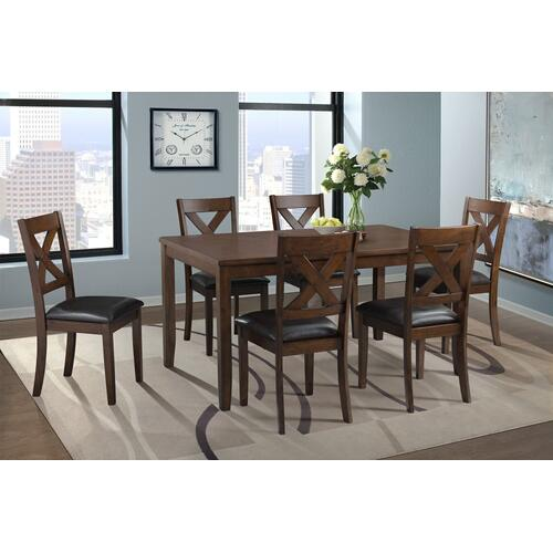 Alex Dining Set - Table and 6 Chairs