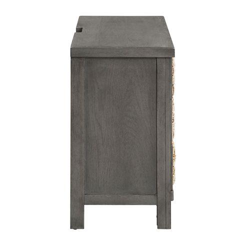 Gallery - 3 Drawer Accent Night Stand