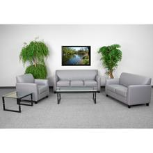 HERCULES Diplomat Series Reception Set in Gray LeatherSoft
