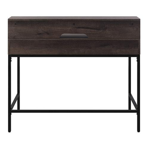 """Office Star - Contempo 40"""" Desk With 2 Drawers and Shelf Hutch"""