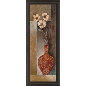 """""""Baroque Floral Il"""" By Rosie Abrahams Framed Print Wall Art"""