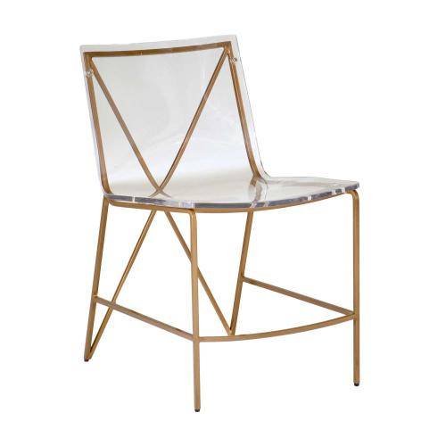 Johnson Dining Chair - Gold
