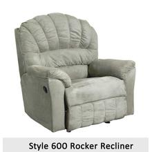 Padded Sage 600RCL - 600 Rocker Recliner