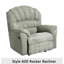 Padded Sage 600RCL - 600 Rocker Recliner