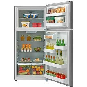 Top Mount Refrigerator - White