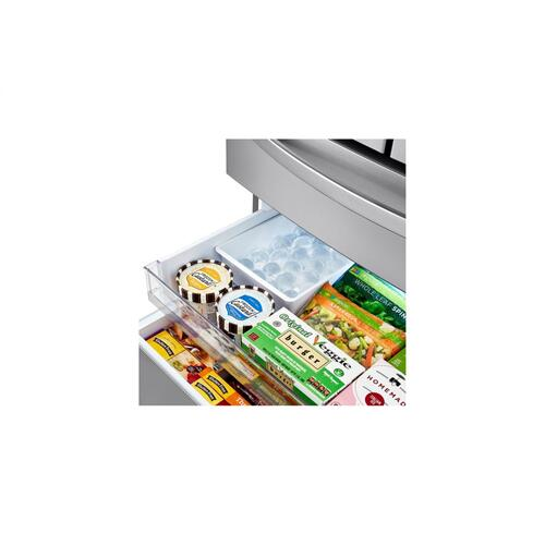 23 cu. ft. Smart wi-fi Enabled Counter-Depth Refrigerator with Craft Ice™ Maker