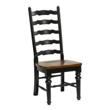 Windswept Shores Ladder Back Side Chair