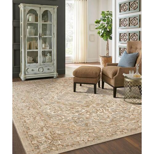 "Touchstone Nore Willow Grey 2' 4""x7' 10"" Runner"