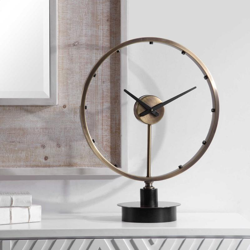 Davy Table Clock