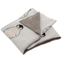 Ozzie Throw - Grey / Coral