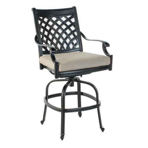 Armonk Gathering Swivel Arm Chair