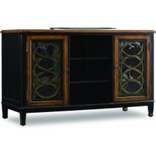 """See Details - Two Toned 60"""" Entertainment Console"""