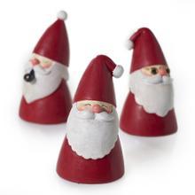 "2"" x 3.75""- Set of 3 Swaggy Santa"