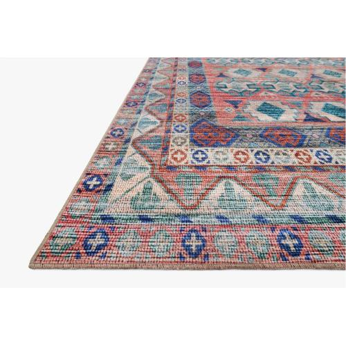 CIE-05 Terracotta / Multi Rug