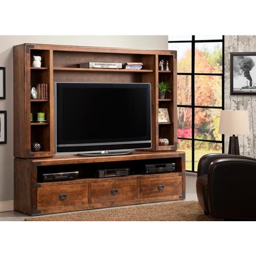 Handstone - Saratoga HDTV Cabinet with Hutch 54'' TV Opening