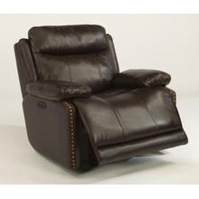 Product Image - Russell Leather Power Gliding Recliner with Power Headrest