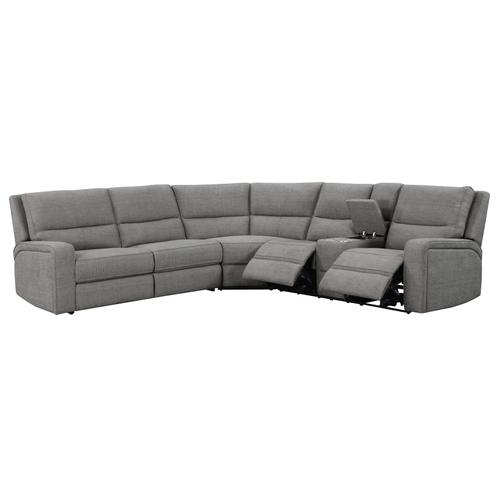 Rsf Power Console Loveseat Charcoal Ash