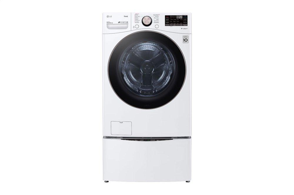 4.5 cu. ft. Ultra Large Capacity Smart wi-fi Enabled Front Load Washer with TurboWash™ 360(degree) and Built-In Intelligence Photo #2