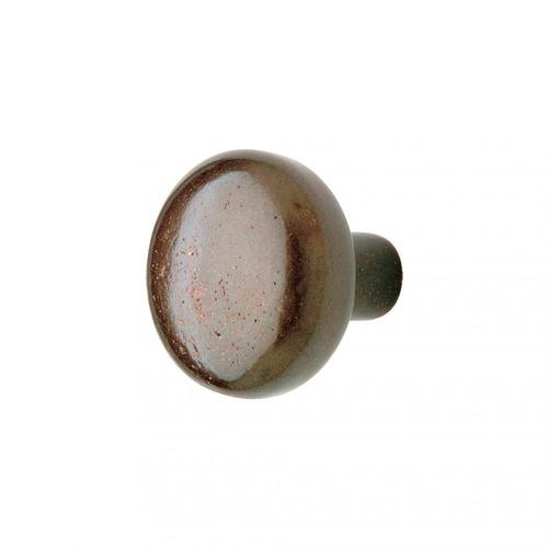Mushroom Knob - CK306 White Bronze Medium