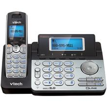 See Details - DECT 6.0 Cordless 2-Line Phone System with Digital Answering System (Single-Handset System)