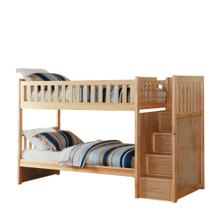 Twin/Twin Step Bunk Bed
